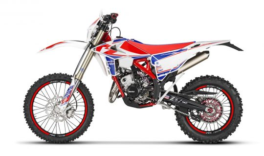 RR Racing 125 2t My 19 - left - white